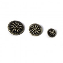 original Tyrolean metal button