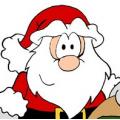 Lana per barba di Babbo Natale