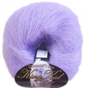 Filato mohair e seta King kid silk