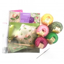 kit cuscino a tricot
