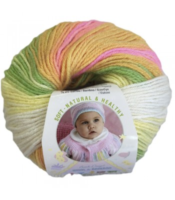 Baby wool Alize Multicolor