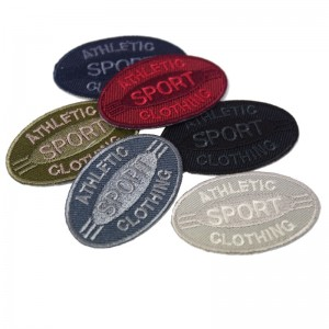 Patch athletic sport clothing