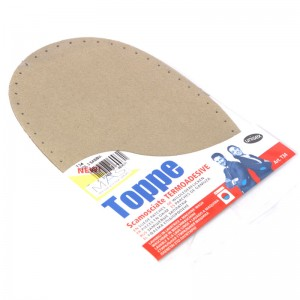 Thermoadhesive suede patches